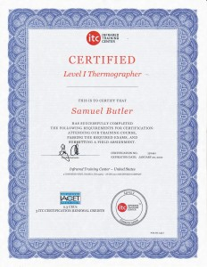 LEVEL 1 THERMOGRAPHER
