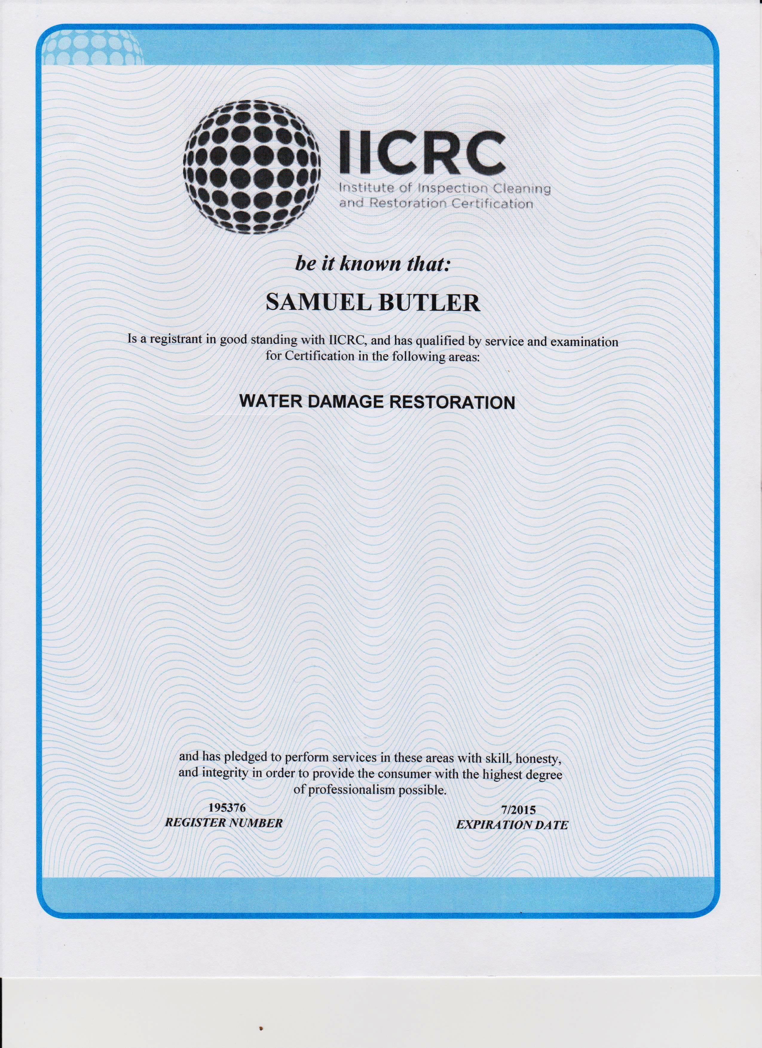 Current certifications ecosolutionspro normi certifications national organization of remediators and mold inspectors 1betcityfo Images